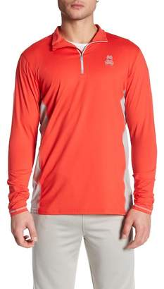 Psycho Bunny Lounge Quarter Zip Performance Pullover