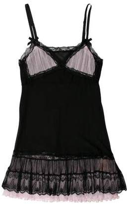 Agent Provocateur Lace-Trimmed Slip Dress w/ Tags