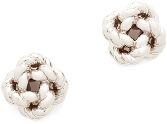Tory Burch Rope Knot Stud Earrings $78 thestylecure.com