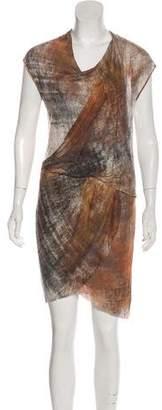 Helmut Lang Mini T-shirt Dress