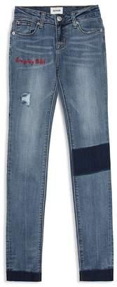 Hudson Girls' Everyday Rebel Distressed Skinny Jeans - Big Kid