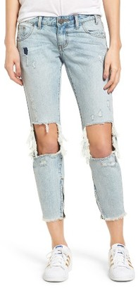 Women's One Teaspoon Freebirds Ripped Boyfriend Jeans $147 thestylecure.com