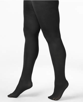 Berkshire Women's Plus Size Easy-On Ribbed Tights 5038