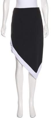 KENDALL + KYLIE Knee-Length Asymmetrical Skirt