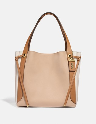 Coach Harmony Hobo In Colorblock