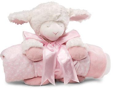 Gund Winky Plush Lamb & Blanket Two-Piece Set