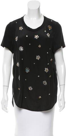 3.1 Phillip Lim3.1 Phillip Lim Silk Embellished Top