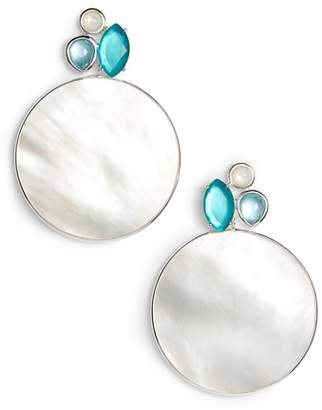 Ippolita Wonderland Drop Gemstone Mother of Pearl Earrings