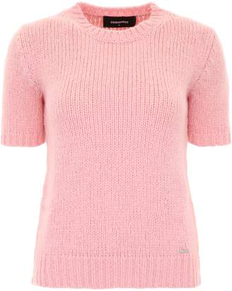 DSQUARED2 Short-sleeved Knit Top