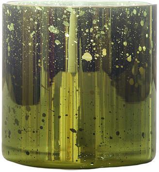 Mosaiq Holiday Cypress Green Mercury Glass Candle