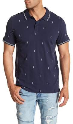Cotton On & Co. Prep Print Regular Fit Polo