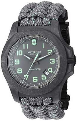 Victorinox Men's I.N.O.X Carbon Swiss Quartz Sport Watch with Nylon Strap