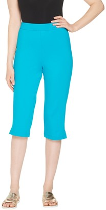 Joan Rivers Classics Collection Joan Rivers Regular Joan's Signature Pull-On Capri Pants