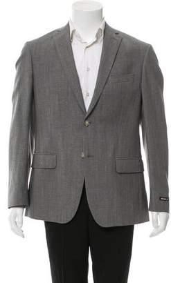 Michael Kors Wool Two-Button Blazer