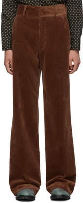 Dries Van Noten Brown Prell Trousers