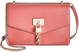 1572dfde11 at Macy s · DKNY Elissa Leather Chain Strap Shoulder Bag