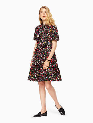 Kate Spade Boho floral shirtdress