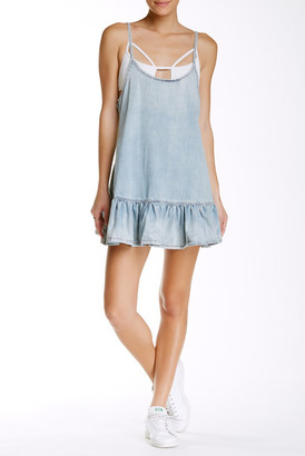 One Teaspoon Pinkie Chambray Dress $136 thestylecure.com