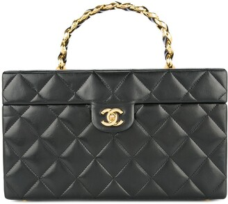 Chanel Pre-Owned Quilted cosmetic handbag