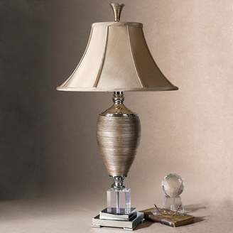 Abriella Metallic Finish Porcelain Table Lamp