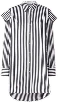 Alexander McQueen structured long shirt
