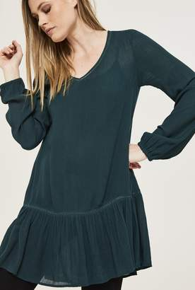 Long Tall Sally Pretty Trimmed Tunic