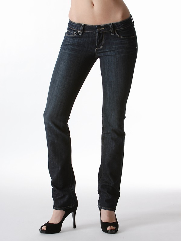 Paige Denim Blue Heights Skinny Jean in Eagle River and McKinley