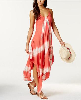 Raviya Tie-Dye Handkerchief Maxi Dress Cover-Up Women's Swimsuit $54 thestylecure.com