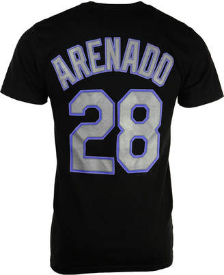 Majestic Men's Short-Sleeve Nolan Arenado Colorado Rockies Player T-Shirt