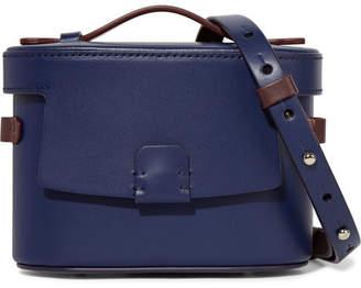Nico Giani - Frerea Mini Two-tone Leather Shoulder Bag - Navy