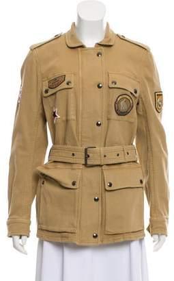 Belstaff Utility Zip-Up Jacket