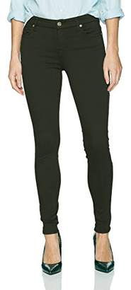 7 For All Mankind Women's Ankle Skinny Jean in Solid Color
