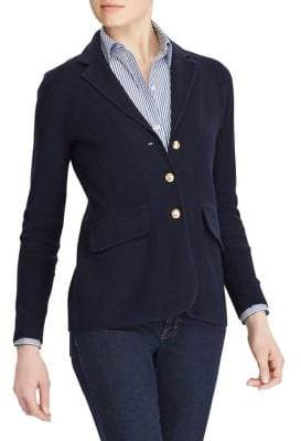 Lauren Ralph Lauren Knit Sweater Blazer