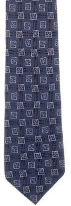 Burberry Printed Silk Tie