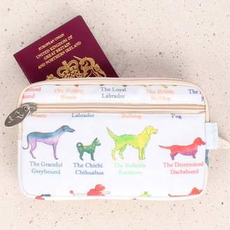 Milly Green Dogs Travel Wallet