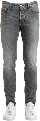Unlimited 17cm Stone Washed Denim Jeans