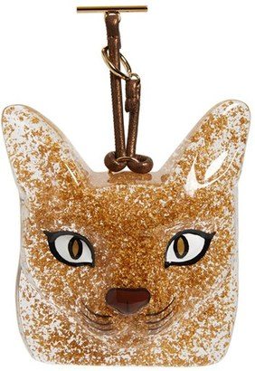Women's Loewe Cat Face Bag Charm $650 thestylecure.com
