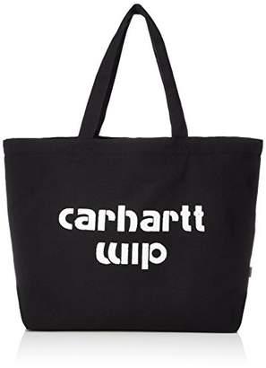 Carhartt (カーハート) - [カーハートダブルアイピー] トートバッグ BRONC TOTE, LARGE I024564-18S 8990 Black/White