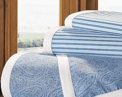 Wellesley Paisley Stripe Sheet Set