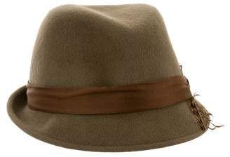 Eugenia Kim Feather-Accented Fedora Hat