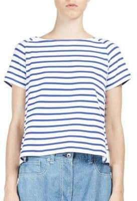 Sacai Dixie Border Cotton Tee