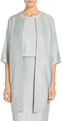 St. John Hansh Sequin Knit Jacket