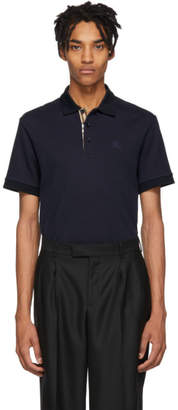 Burberry Navy Core Polo