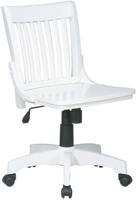Three Posts Featherston Bankers Chair Arms: Not Included,