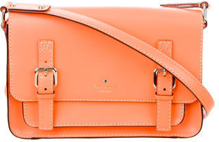 Kate Spade New York Scout Leather Satchel $145 thestylecure.com