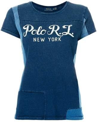 Polo Ralph Lauren patchwork T-shirt