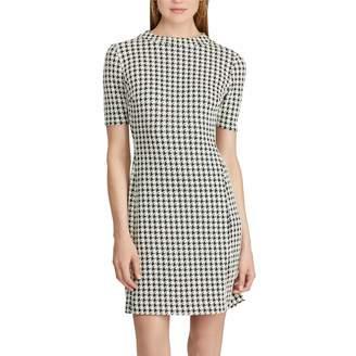 Chaps Women's Plaid Fit & Flare Dress