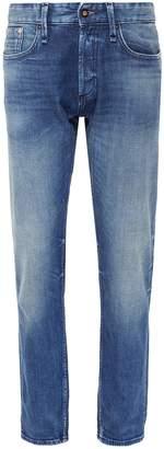 Denham Jeans 'Forge' washed selvedge jeans