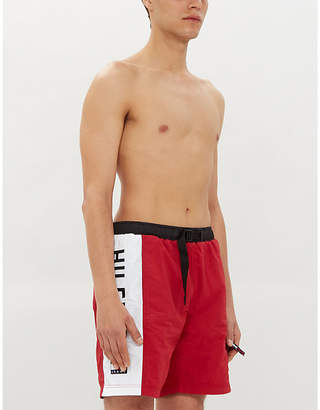 Tommy Jeans Logo-embroidered relaxed-fit swim shorts