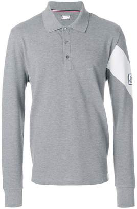 Moncler Gamme Bleu long-sleeved polo shirt